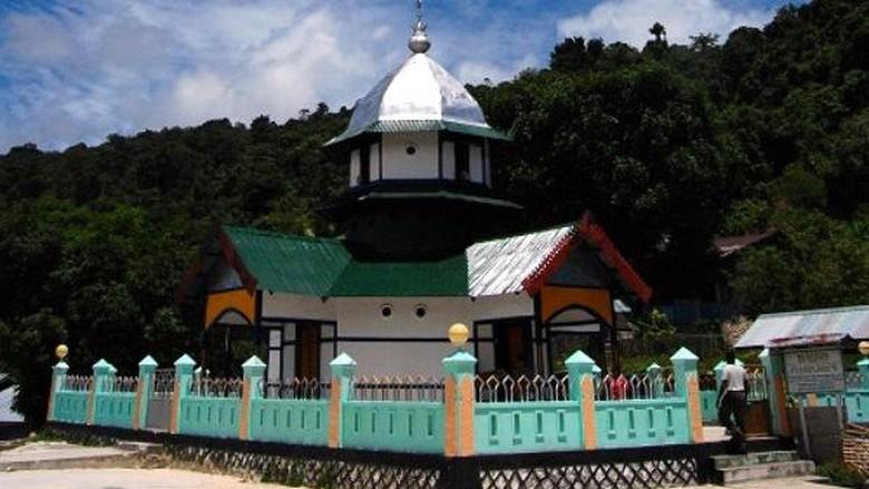 Masjid Wertuer, masjid tertua di Tanah Papua (Dadang Lesmana/ACI)