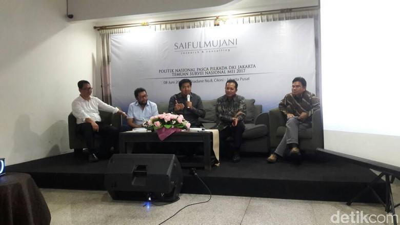 Survei SMRC: Pilgub DKI 2017 Tak Pengaruhi Perpolitikan Nasional