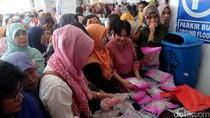 Bazar Ramadan di Gedung Kementerian Kelautan dan Perikanan