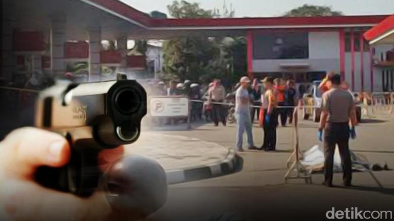 Perampokan di Daan Mogot, Pelaku Tembak Davidson dari Motor
