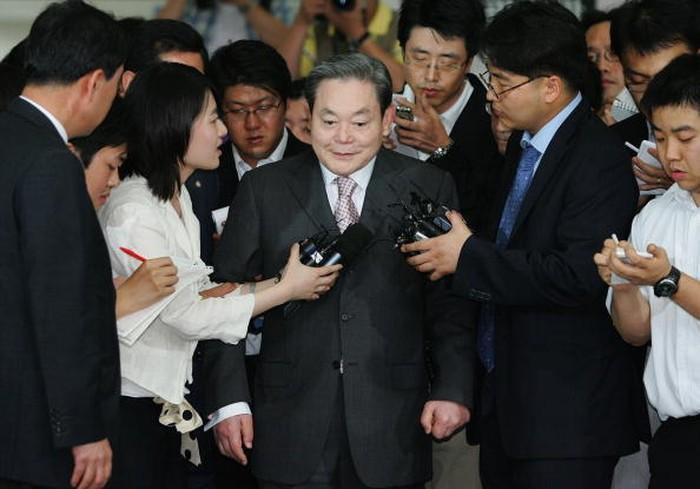 Lee Kun Hee. Foto: Getty Images
