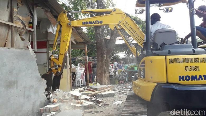 337 RHU dan 847 Bangli di Surabaya Ditertibkan Selama 2017