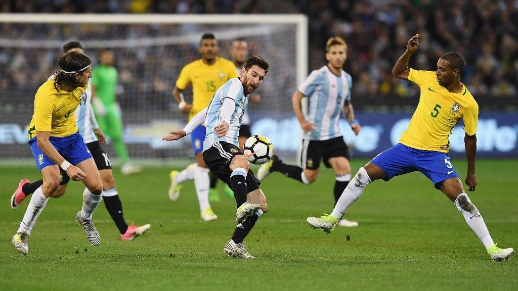 Prediksi Komputer: Brasil vs Argentina di Final Piala Dunia 2018