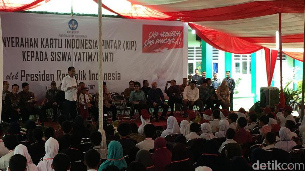 Saat Jokowi Terkesan dengan Feri Bocah SD Tasikmalaya