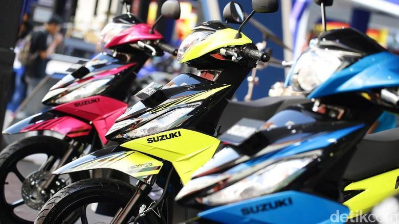 Harus Euro 4, Suzuki Tunda Ekspor Skutik Address