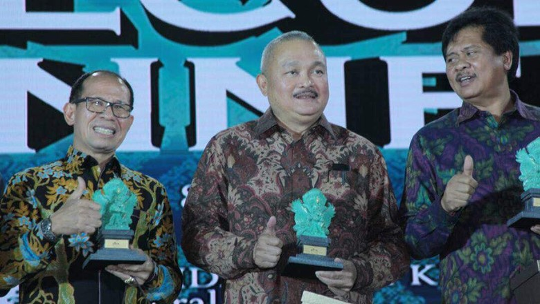 Foto: Gubernur Sumatera Selatan Alex Noerdin turut hadir di BBTF 2017 (dok Pemprov Sumsel)