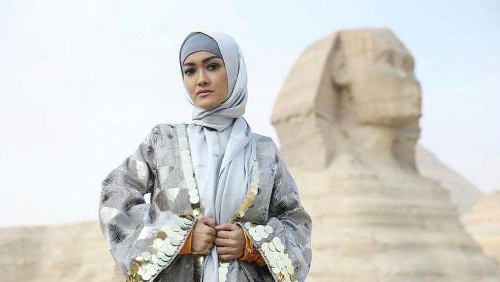 Momen Bahagia Jupe Saat Sempat Liburan ke Mesir