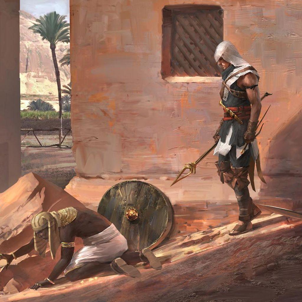 Game Assassins Creed: Origins Punya Mode Edukasi, Seperti Apa?