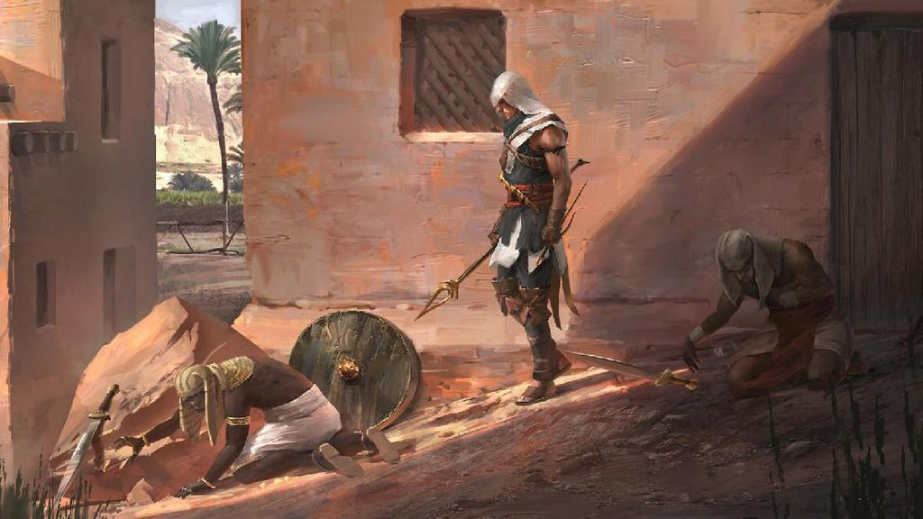 Inilah 5 Fakta Menarik Assassins Creed Origins