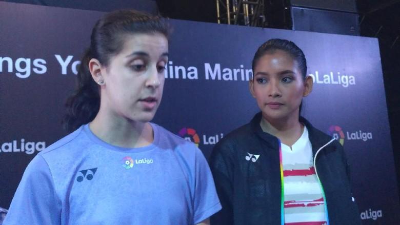 Duet Carolina Marin dan La Liga di Jakarta: Olahraga Spanyol Tak Hanya Sepakbola