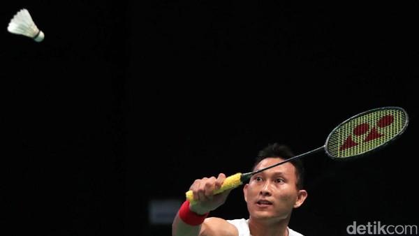 Lolos ke Babak Kedua, Sony Ditunggu Chen Long