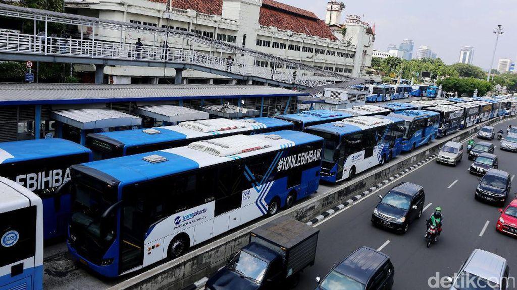 Idul Adha, Bus  TransJakarta Mulai Beroperasi Pukul 09.00 WIB