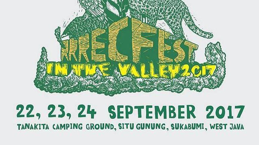 September, RRREC Fest in The Valley 2017 Akan Digelar