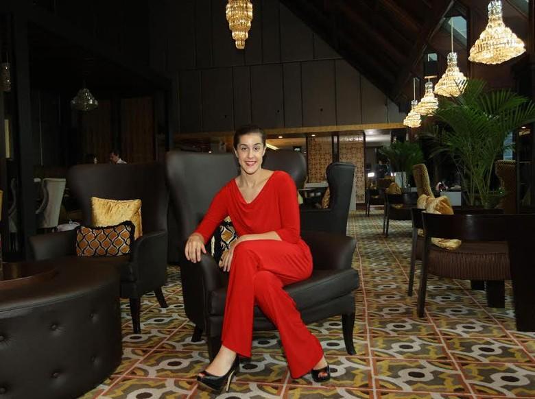 Selain Bersama La Liga, Carolina Marin Juga Jadi Duta Hotel