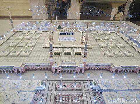 Maket Masjid Nabawi (Fitraya/detikTravel)