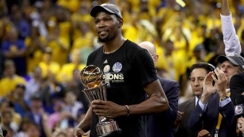 Kevin Durant Rebut Gelar MVP Final
