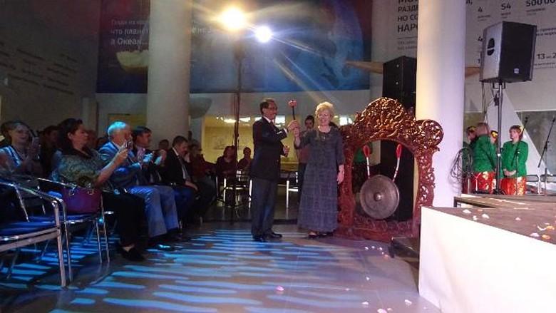 Peresmian Festival Budaya Indonesia di Svetlogorsk, Rusia (KBRI Moskow)