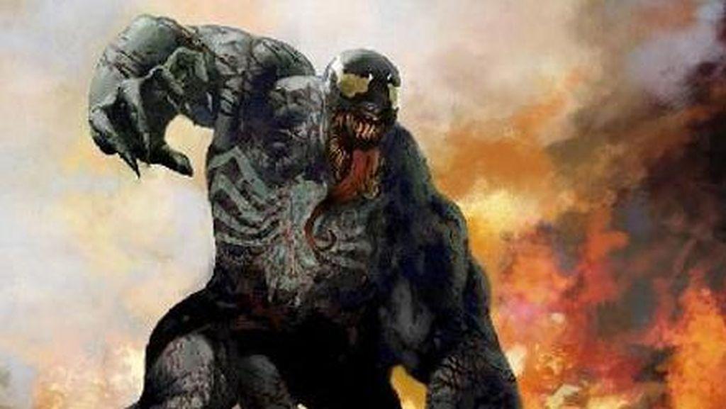 Intip Tom Hardy Syuting Perdana Venom