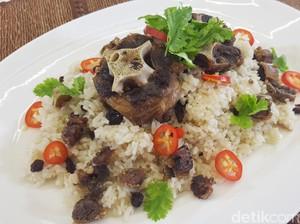 Resep Nasi:  Nasi Kebuli Buntut Sapi