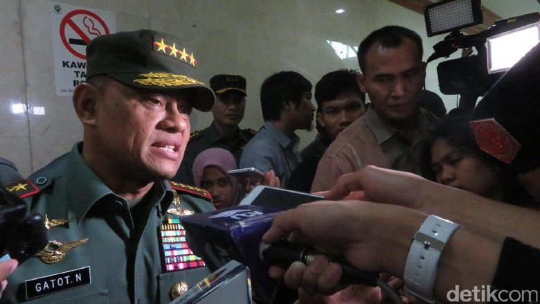 Panglima: Oknum TNI yang Pukul Polantas Sudah Ditahan