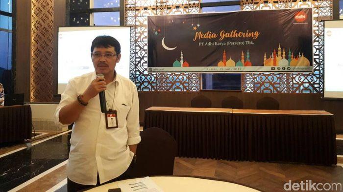 Direktur Keuangan dan Legal Adhi Karya, Haris Gunawan (Foto: Ardan Adhi Chandra)