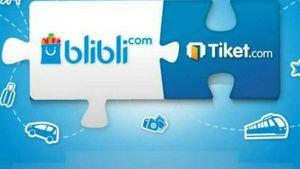 Blibli Resmi Caplok Tiket.com