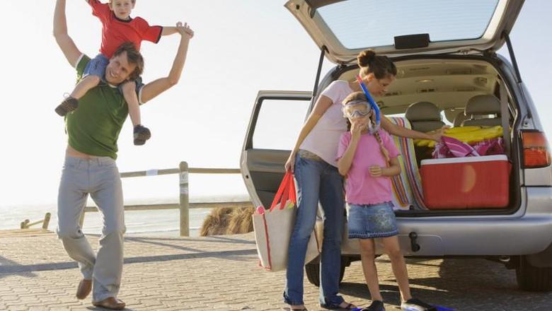 Ilustrasi liburan keluarga (Dok. Thinkstock)