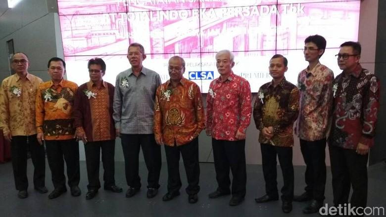Melantai di Pasar Modal, Saham Totalindo Eka Persada Melejit 49,68%