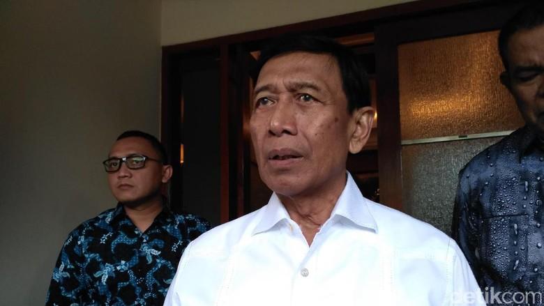 Isu Penyelundupan Senjata, Wiranto: Itu Pengadaan BIN, Miskomunikasi Saja