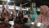Sepi Pembeli, Harga Daging Sapi di Brebes Mulai Menurun