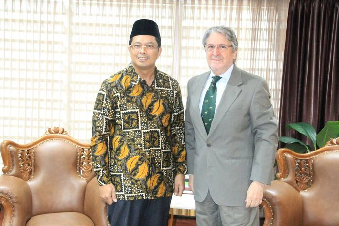 Wakil Ketua MPR Mahyudin menerima Duta Besar Chili untuk Indonesia, Gonzalo Mendoza (Foto: Dok. MPR)