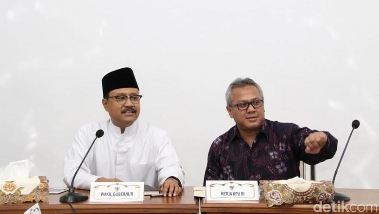 KPU Tak Mau Konflik Pilgub DKI Merembet ke Jatim