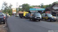 Jalan di wilayah Limbangan-Malangbong yang rawan kecelakaan.