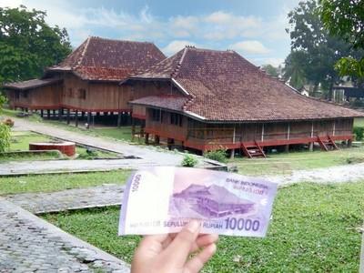 Mengintip Rumas Limas yang Ada di Uang Rp 10 Ribu