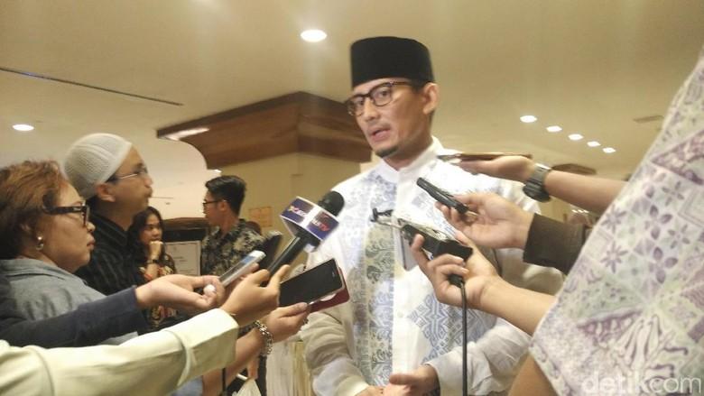 Sandi Imbau Warga Jakarta Tak Terprovokasi Isu Intoleransi