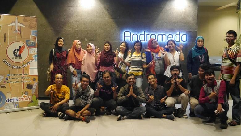 Buka bersama Komunitas dTraveler di Jakarta (Kurnia/detikTravel)