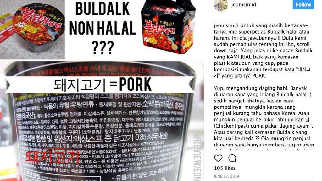Sebelum Beli Produk Makanan Korea, Ketahui Dulu Halal atau Tidak dengan 5 Cara Ini