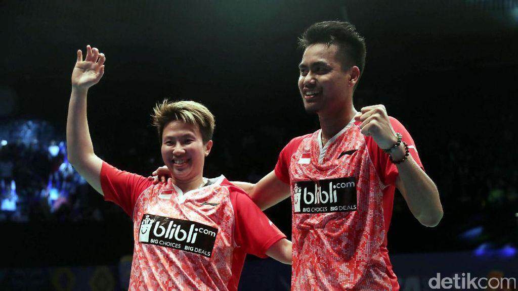 Owi/Butet Akhiri Puasa Gelar di Indonesia Open