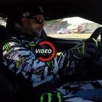 Bukan Ngedrift, Ken Block Cicipi Ford GT di Sirkuit Le Mans