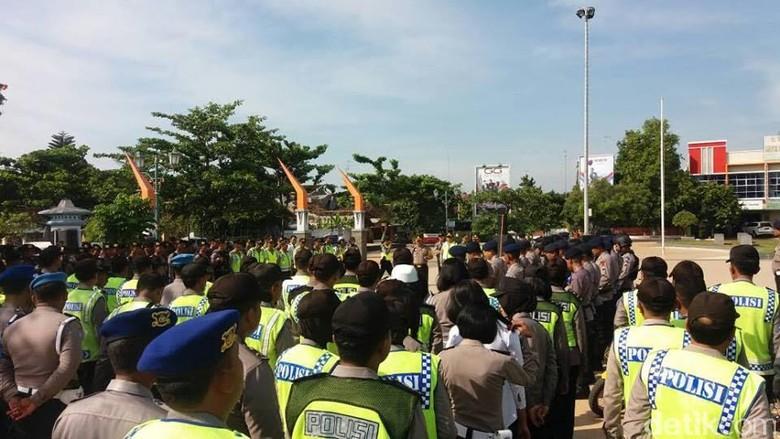 Ratusan Personel Siap Kawal Arus Mudik 2017 di Rembang