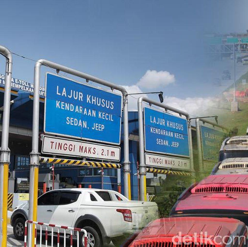 Gerbang Tol Karawang 2 Masih Ditutup, Lalin Macet 7 Km