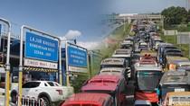 Gerbang Tol Karawang Barat 2 Masih Ditutup, Lalin Macet 7 Km