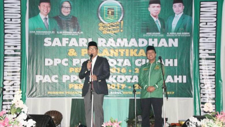 Melihat Kemesraan Ridwan Kamil dan PPP Jelang Pilgub Jabar