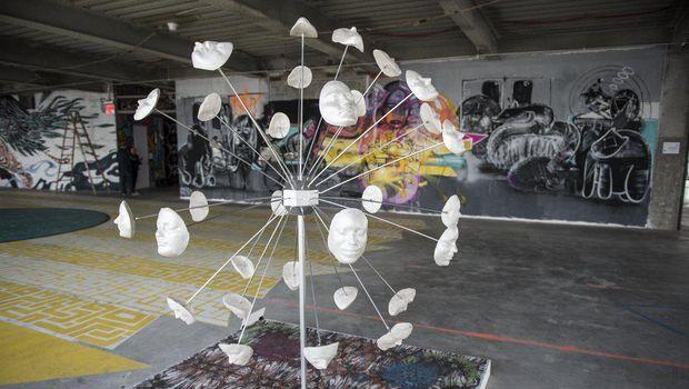 Ketika Galeri Seni Jalanan Ada di Lantai 69 World Trade Center