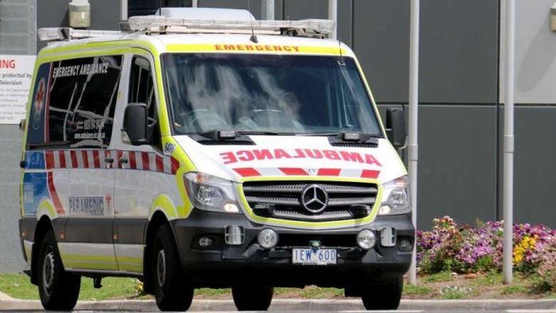 Pengemudi di Victoria Bisa Didenda Jika Ngebut Dekat Ambulans
