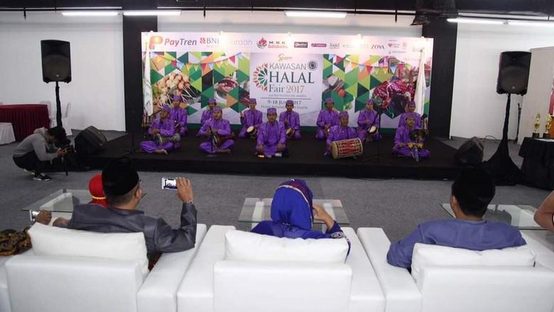 Foto: Kawasan Halal Fair 2017 (dok Istimewa)