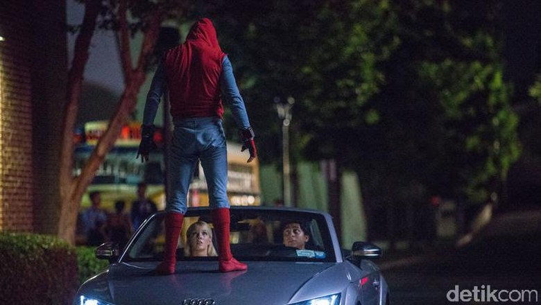 Mobil-mobil Audi Jadi Bintang Film Spider-Man Homecoming