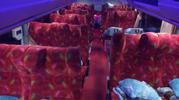 Interior bus Double Decker di Aceh yang keren (Agus Setyadi/detikTravel)