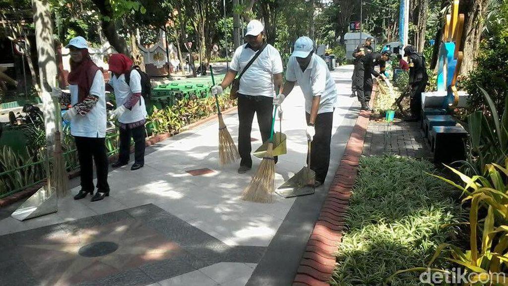 Hasil Riset, Taman Bungkul Masih jadi Favorit Warga Surabaya