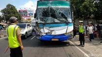 Bus Pemudik Tabrak 2 Mobil dan 3 Motor di Boyolali, 1 Orang Tewas
